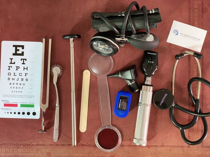Examination tools, Chiropractor in Woking