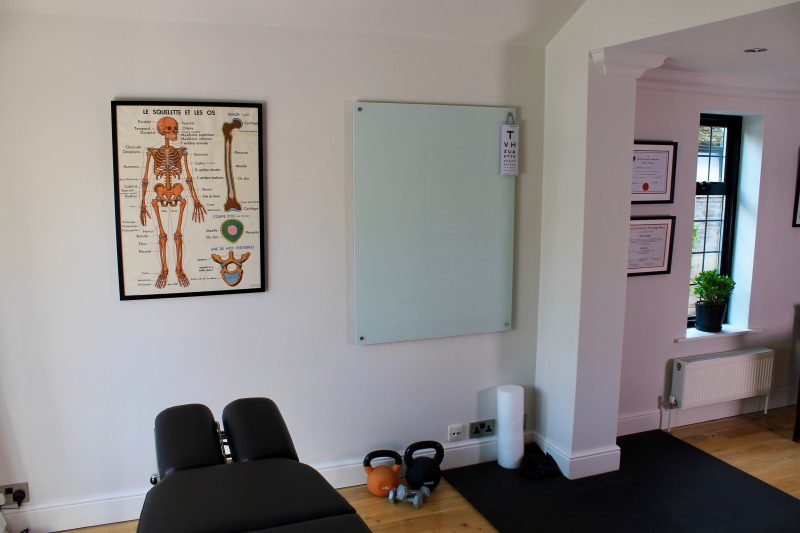 Exercise area at The Neuro-Muscular Clinic, Chiropractor in Woking