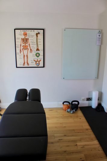 Treatment and rehabilitation area, Chiropractor in Woking