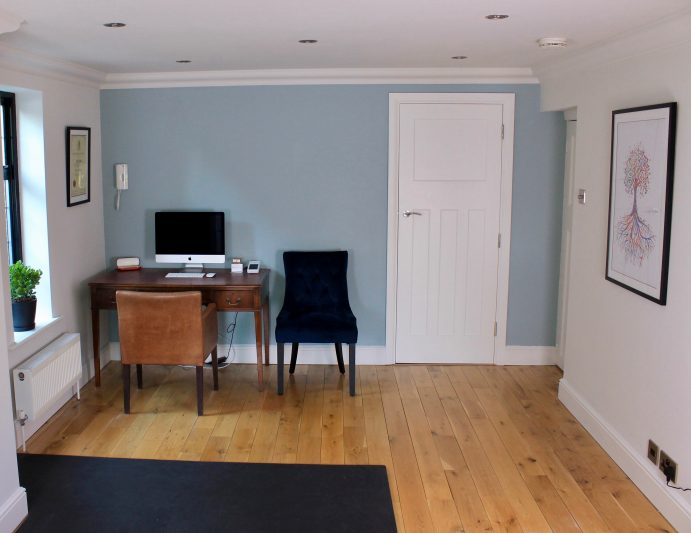 Consultation room at The Neuro-Muscular Clinic, Chiropractor in Woking